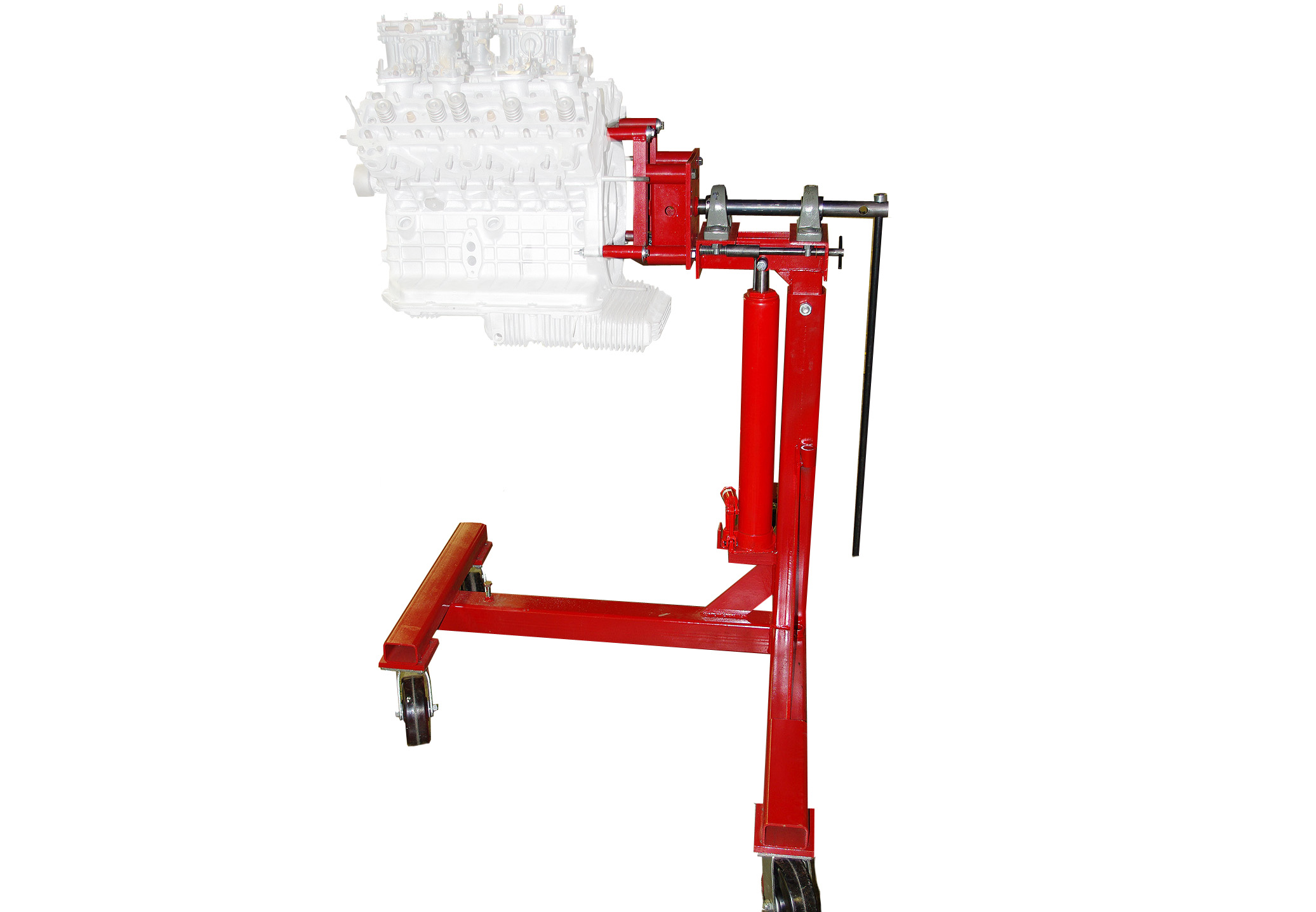 Car Wheel Dolly >> Engine Stand Adapter - The Auto Dolly